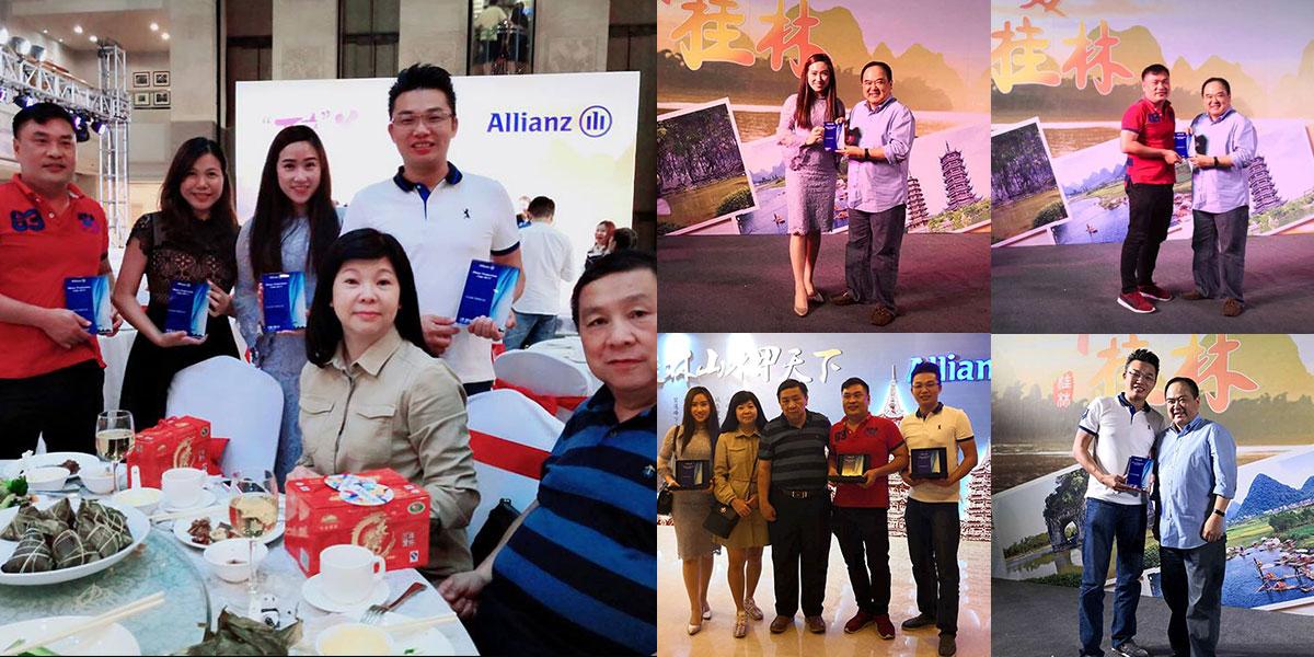 Allianz Productivity Club at Guilin China
